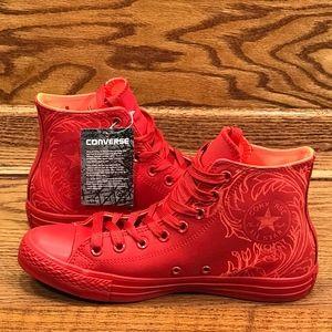 Converse CTAS Hi Casino Lava Shoes